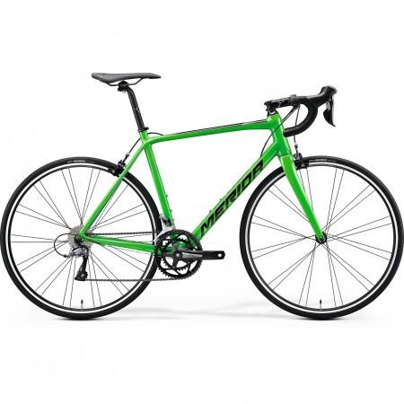 Bicicleta de sosea barbati Merida Scultura 100 Verde/Negru 2020