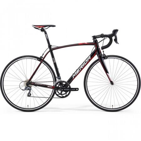 Bicicleta cursiera MERIDA 2014 Scultura 900 Negru/Rosu (Alb)