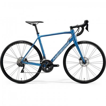 Bicicleta de sosea barbati Merida Scultura Disc 400 Albastru/Argintiu 2020