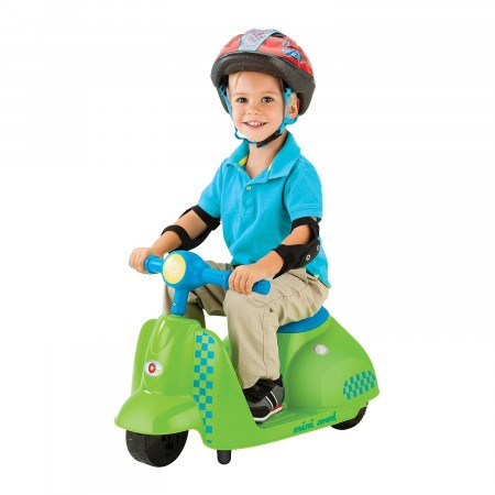 Scuter electric copii 3+ ani Razor Kixi Mini Mod Verde/Albastru