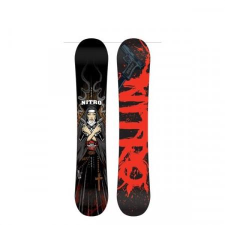 Placa Snowboard Nitro PRO ONE OFF Jon Kooley