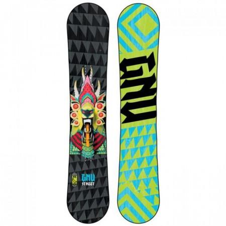 Snowboard Gnu Street Series Dragon BTX 2014