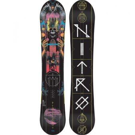 Placa Snowboard Nitro Blacklight