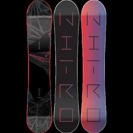 Placa Snowboard Nitro Blacklight Black/Pink
