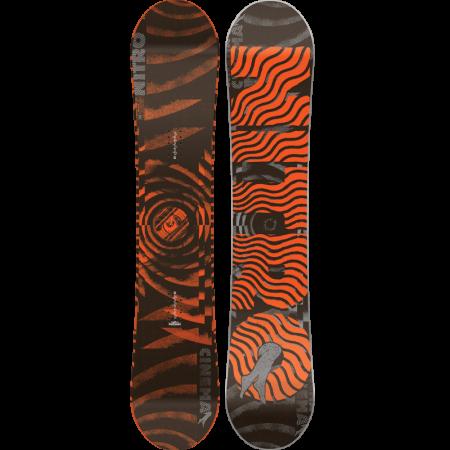 Placa Snowboard Nitro Cinema Orange