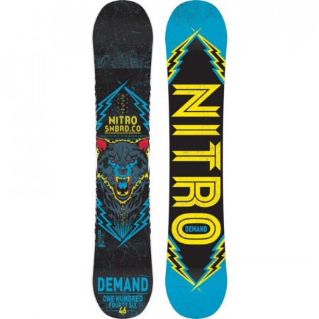 Placa Snowboard Nitro Demand blue/purple