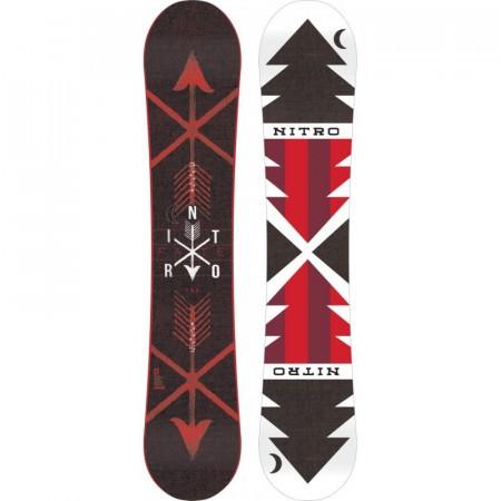 Placa Snowboard Nitro Fate Red