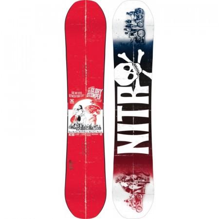 Placa Snowboard Nitro Glory Stomper Red