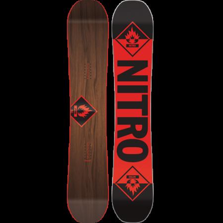 Placa Snowboard Nitro Pyro
