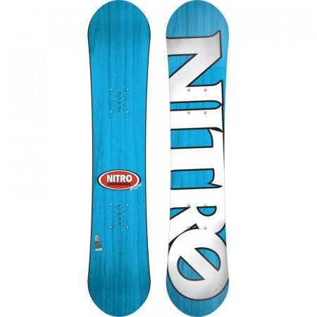 Placa Snowboard Nitro Ripper Youth blue/orange