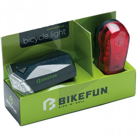 Set Far+Stop Bikefun Square Set Negru