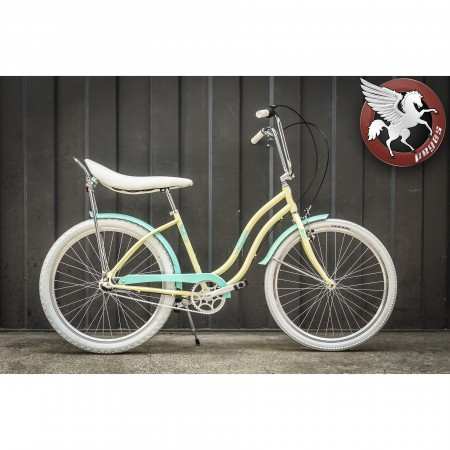 Bicicleta Pegas Strada D Single Crem