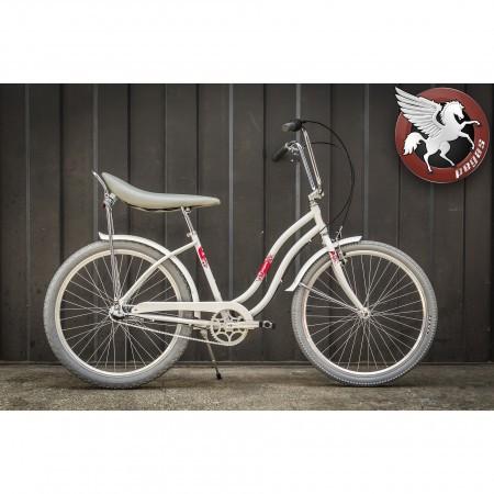 Bicicleta Pegas Strada D Single Alb