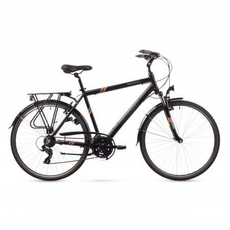 Bicicleta de oras Romet WAGANT 1 Negru-Portocaliu 21 2016