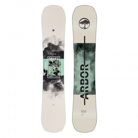 Placa snowboard Unisex Arbor Draft 20/21