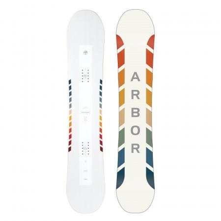 Placa snowboard Unisex Arbor Poparazzi Camber 20/21