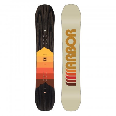Placa snowboard Unisex Arbor Shiloh Rocker 20/21