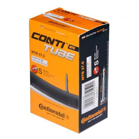 Camera bicicleta Continental MTB 27.5 valva Presta S42 47/60-584 27.5-1.75/2.4