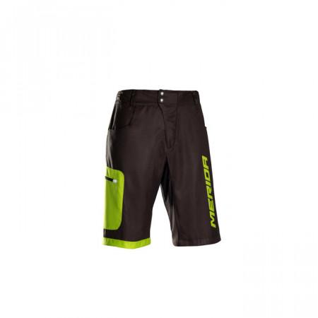 Pantaloni MERIDA F43 scurt verde baggy fără inserție