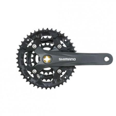 Angrenaj pedalier Shimano Acera FC-M391-L 48x36x26T 170mm 9V