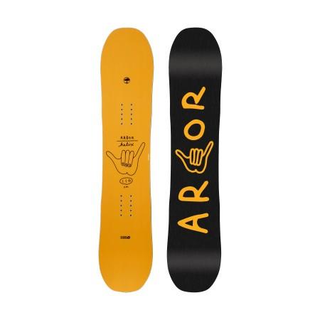 Placa snowboard copii Arbor Helix 110 Galben 2019