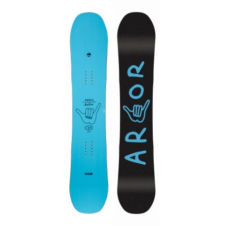 Placa snowboard copii Arbor Helix 130 Albastru 2019
