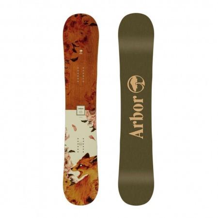 Placa snowboard Femei pentru Freestyle/All Mountain Arbor Cadence Camber 2020