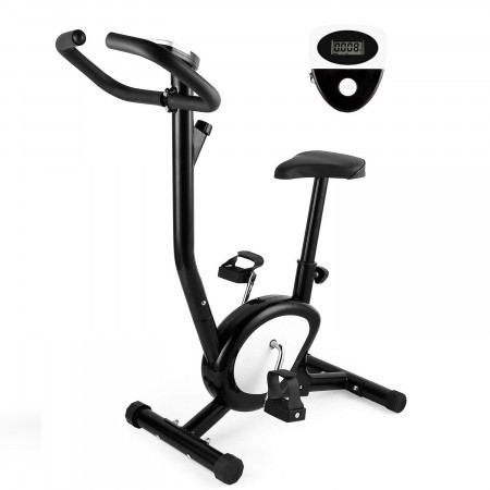 Bicicleta fitness mecanica Techfit BB370 cu sa reglabila