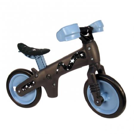 Bicicleta pentru copii fara pedale Bellelli B-Bip Gri/Albastru