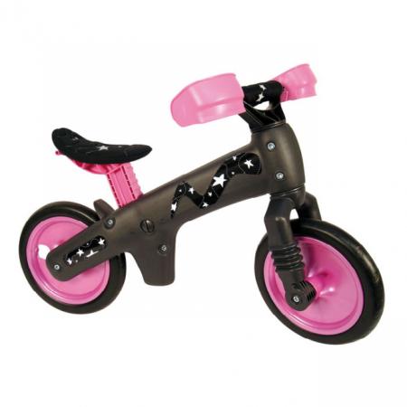 Bicicleta pentru copii fara pedale Bellelli B-Bip roz