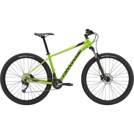 Bicicleta de munte pentru barbati Cannondale Trail 7 Verde acid 2019