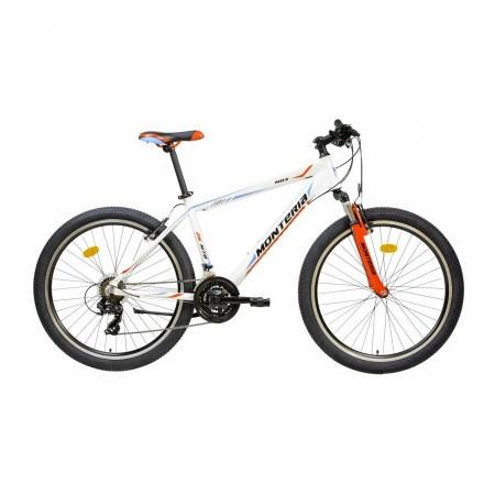 Bicicleta de munte Romet Monteria MRX Alb/Albastru/Rosu