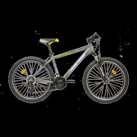 Bicicleta de munte Romet Monteria MRX Gri/Galben/Albastru