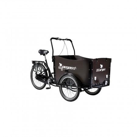Bicicleta cargo unisex Pegas Cargo Adult 26X20 Negru Stelar