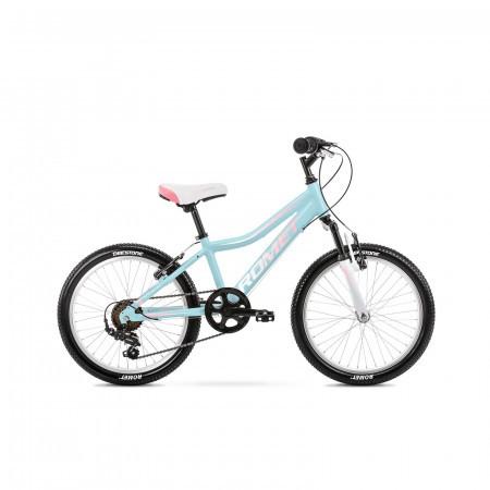 Bicicleta pentru copii Romet Jolene 20 Kid 2 S/10 Albastru/Roz 2021