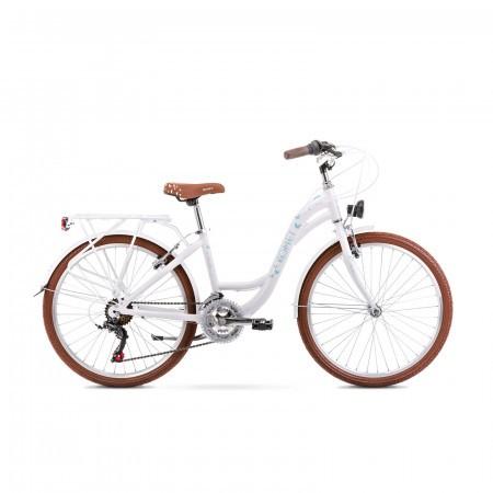 Bicicleta pentru copii Romet Panda 1 S/13 Alb/Albastru 2021