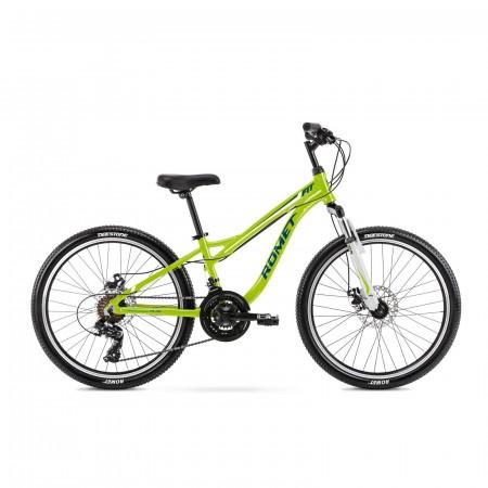 Bicicleta pentru copii Romet Rambler Fit 24 S/12 Verde/Albastru 2021