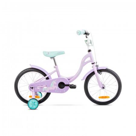 Bicicleta pentru copii Romet Tola 16 S/9 Roz/Turcoaz 2021