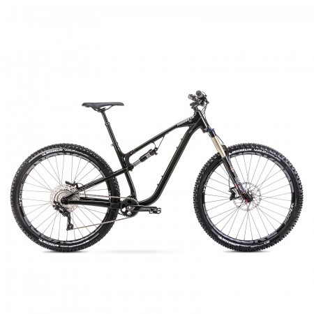 Bicicleta de enduro unisex Romet Dagger 1 Negru 2021