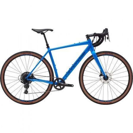 Bicicleta de gravel pentru barbati Cannondale Topstone Apex 1 Albastru electric 2019