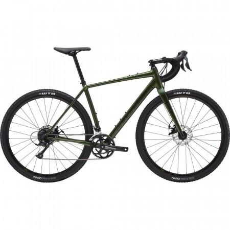 Bicicleta de gravel pentru barbati Cannondale Topstone Sora L Verde Vulcan 2019