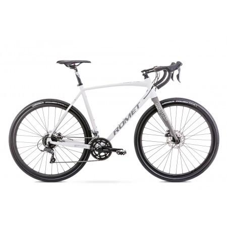 Bicicleta de gravel unisex Romet Aspre 1 Gri 2021