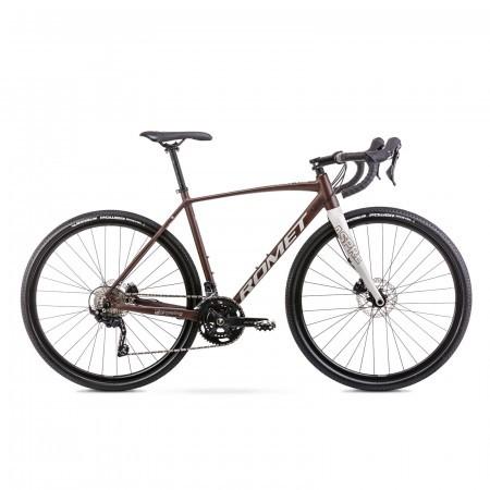 Bicicleta de gravel unisex Romet Aspre 2 Maro/Gri 2021