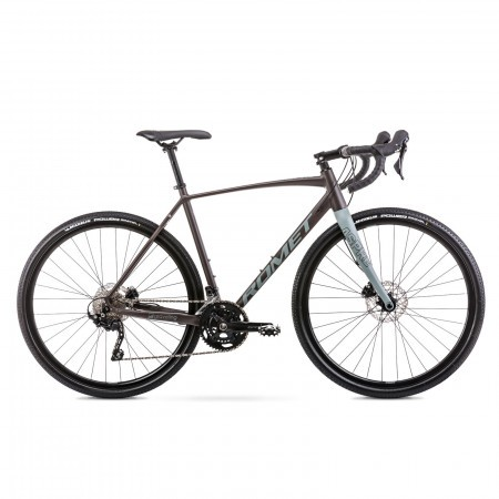 Bicicleta de gravel unisex Romet Aspre 2 Verde oliv 2021