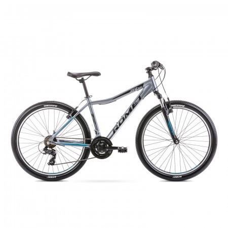 Bicicleta de munte pentru copii Romet Rambler R6.0 Jr Grafit/Turcoaz 2021
