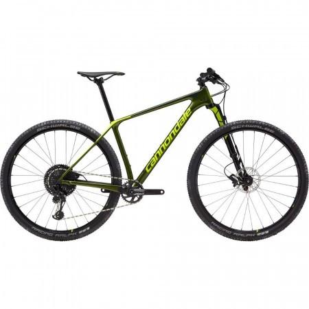 Bicicleta de munte pentru barbati Cannondale F-Si Carbon 3 L Verde inchis 2019