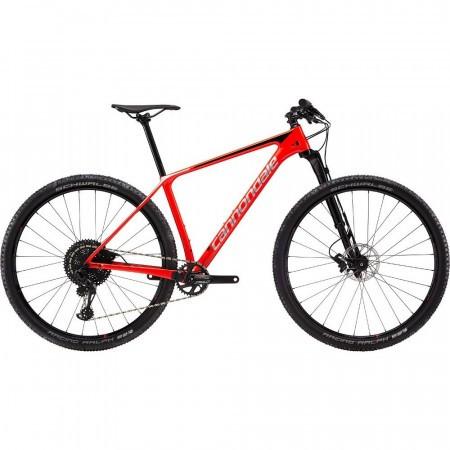 Bicicleta de munte pentru barbati Cannondale F-Si Carbon 3 M Rosu 2019