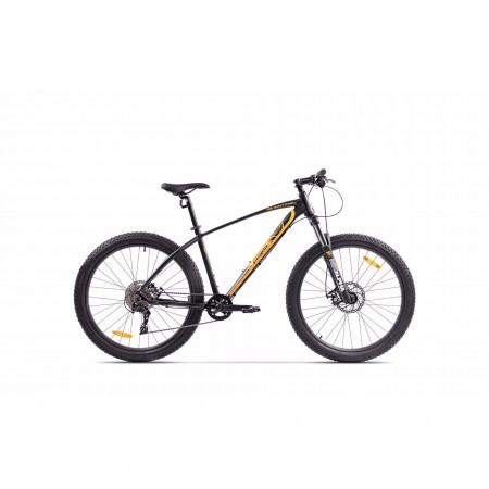 Bicicleta de munte pentru barbati Pegas Drumuri Grele 17 inch Negru/Rosu