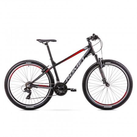 Bicicleta de munte pentru barbati Romet Rambler R7.0 LTD Negru/Rosu 2019
