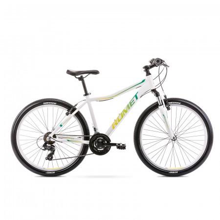 Bicicleta de munte pentru femei Romet Jolene 6.0 Alb/Verde 2021